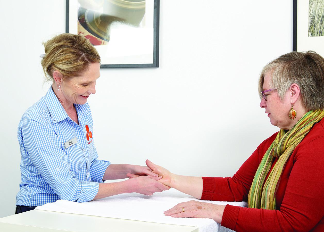 Rheumatoid Arthritis Massage