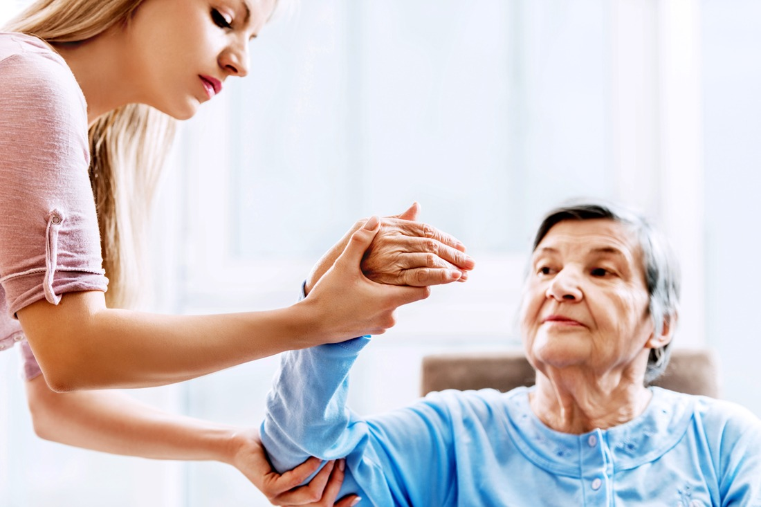 Melbourne Hand Rehab, Expert Hand Therapy, Patient Receiving Treatment During a Home Visit