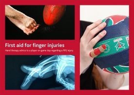 First Aid, Finger Injuries