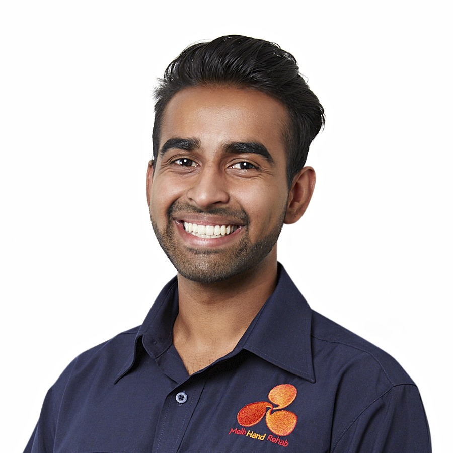 Rigel Mascrenhas, Practitioner in Hand Therapy, Melbourne Hand Rehab