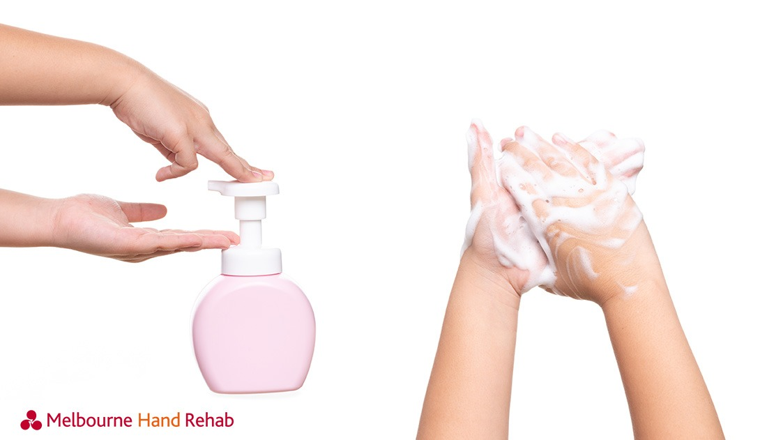 Melbourne Hand Rehab, hand washing