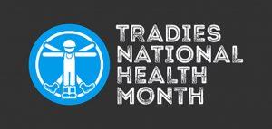 Tradies National Health Month logo