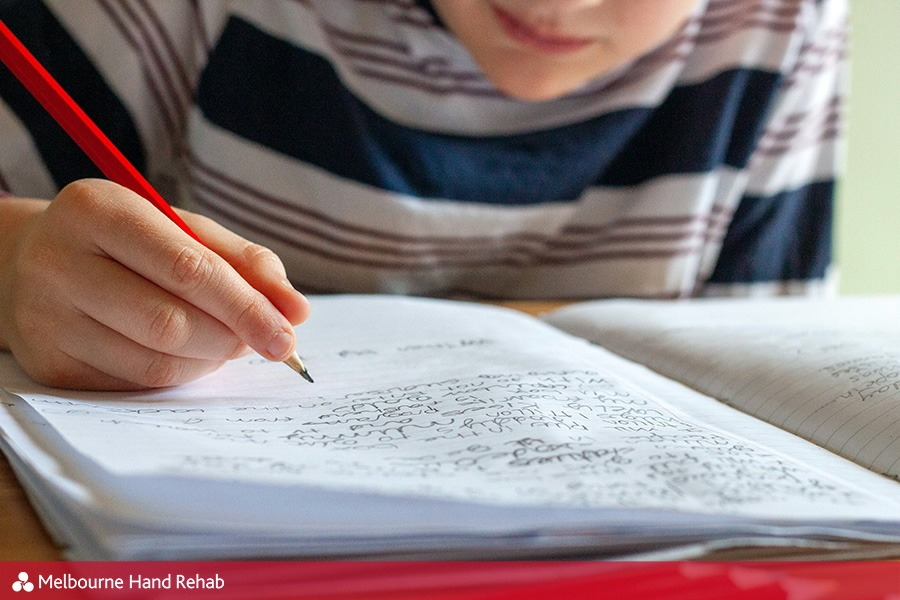 Tips to improve your child's handwriting by Melbourne Hand Rehab