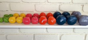 Hand Therapy Dumbbells