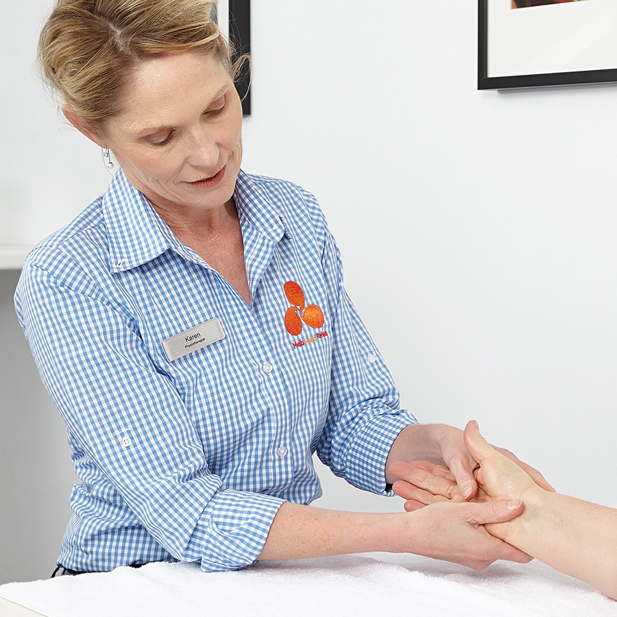 Melbourne hand rehab expert post-operative hand therapy