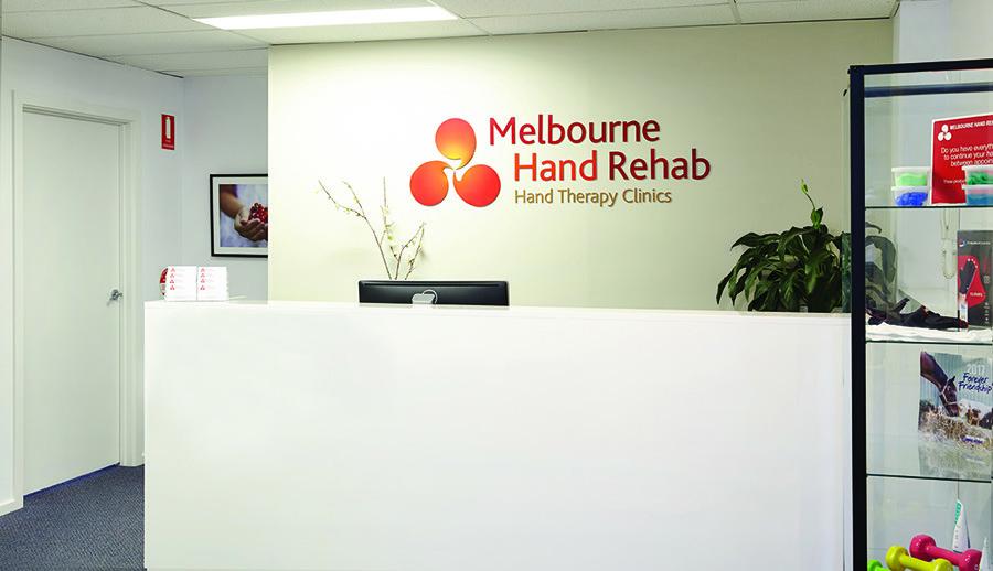 Melbourne Hand Rehab Heidelberg Clinic Reception