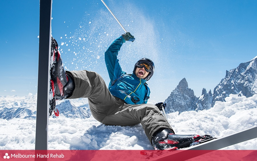 The Silly Skier's Thumb: Ulna Collateral Ligament tear.