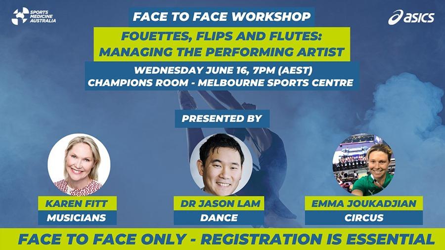 Managing the PerformingManaging the Performing Artist – Victorian Workshop Graphic