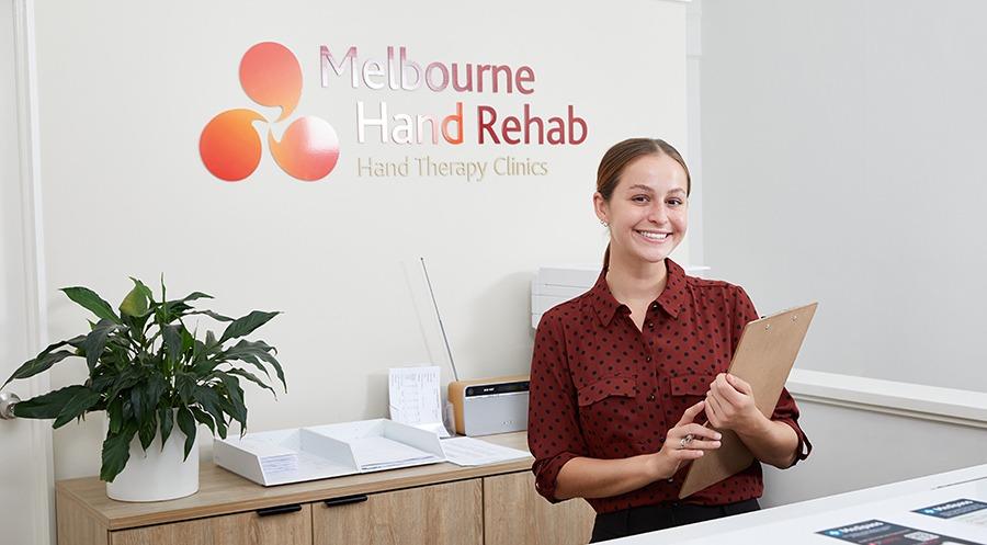 Melbourne Hand Rehab - Friendly Reception