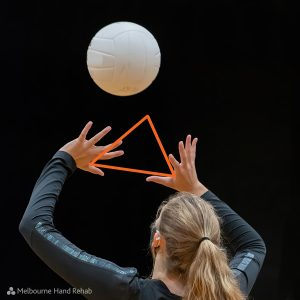 Common Volleyball Injuries when setting