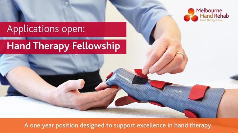 Melbourne Hand Rehab 2022 Hand Therapy Fellowship