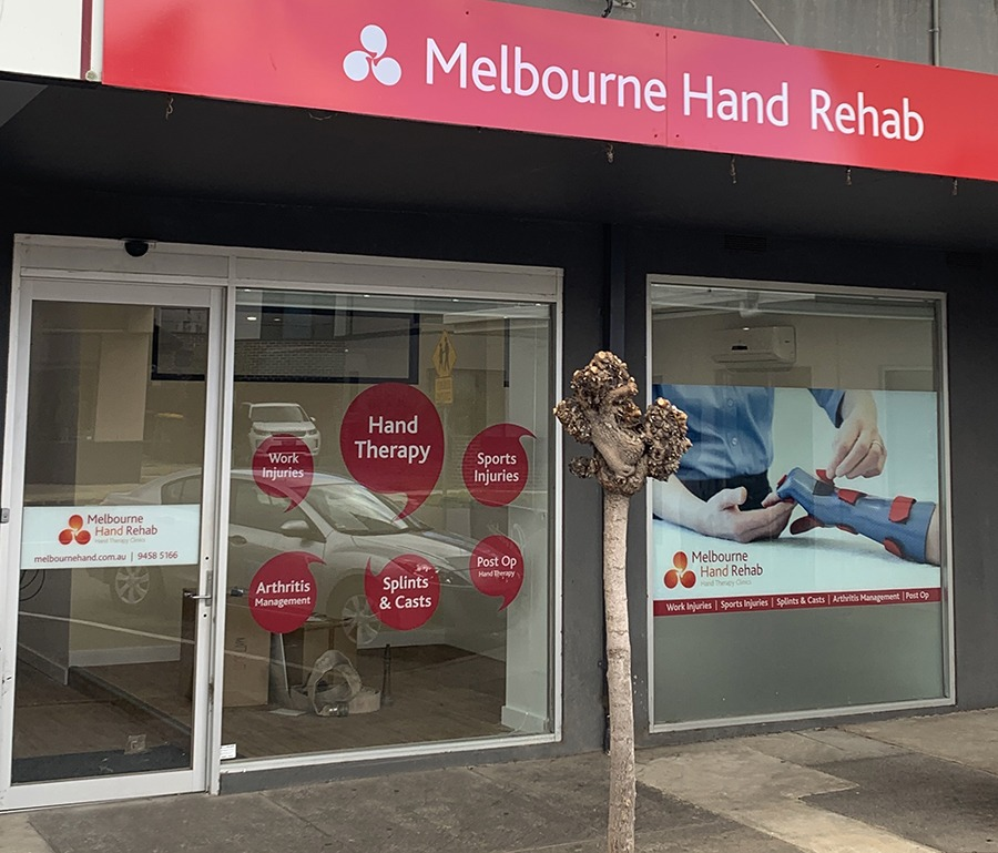 Melbourne Hand Rehab Heidelberg clinic is moving to Ivanhoe