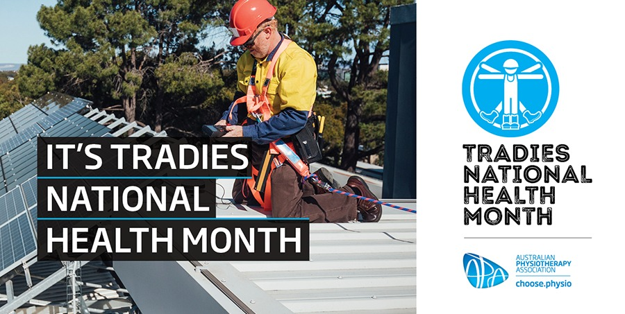National Tradies Month Campaign. Electricians hand injuries